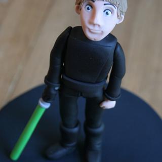 Luke Skywalker - Star Wars Cake