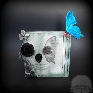 Painted Butterfly - Sugar Skull Bakers Collaboration