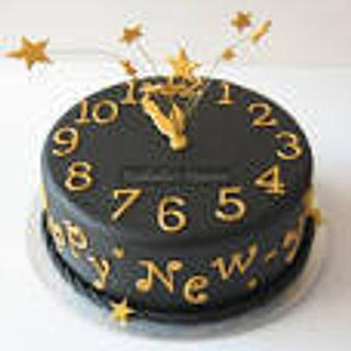 new year cake - Cake by Tracey