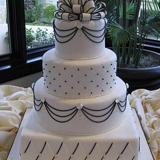 Bling wedding cake - Cake by Diane
