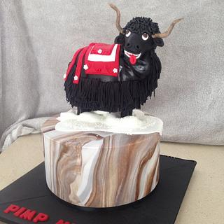 Pimp MY YAK Cake