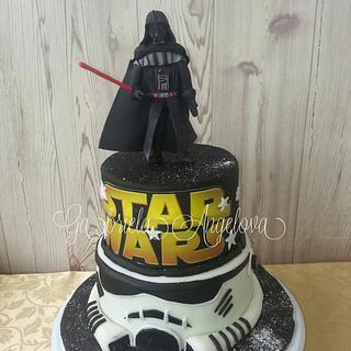 Star Wars cake - Cake by Gabriela Angelova