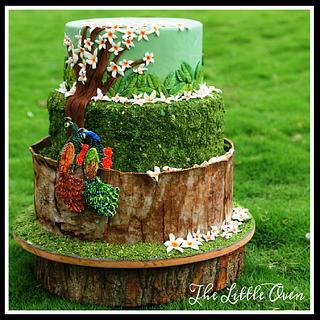 Parijaat - Cake by Dr. Angelique Vikram Goel