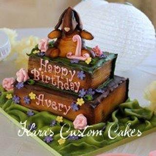 Velveteen Rabbit First Birthday Cake