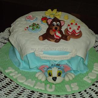 tom and jerry - Cake by MySignatureCakes