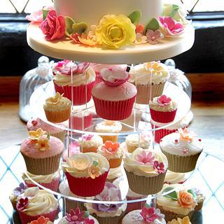 Summer Wedding Tower! - Cake by Glenys Talbot
