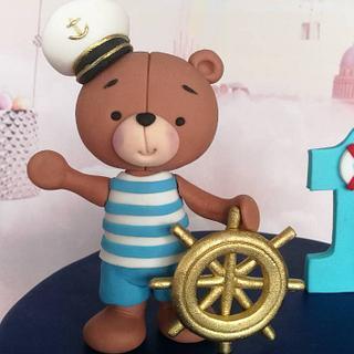 Nautical teddy - Cake by Zaklina