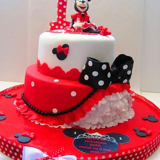 Minnie for a princess... - Cake by COMANDATORT