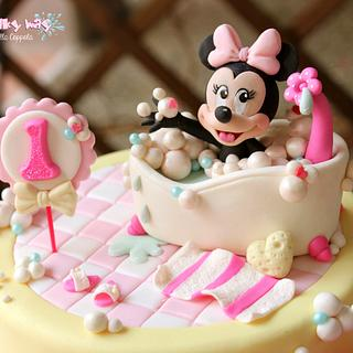 Baby Minnie Mouse Bath
