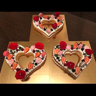 "Cake ""Love"" - Cake by Aleksandra Andonova"