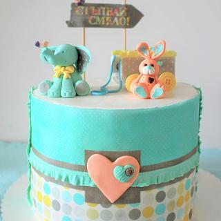 Baby boy cake - Cake by Eleonora Nestorova