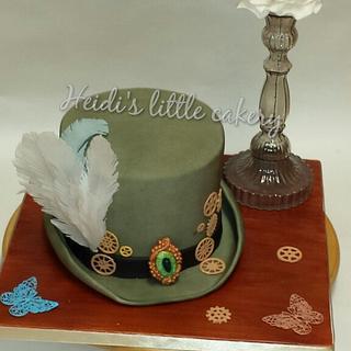 steam punk theme top hat