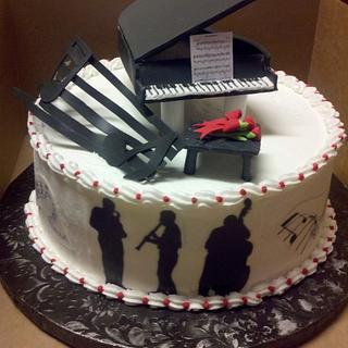Jazz Cake - Cake by Debbie