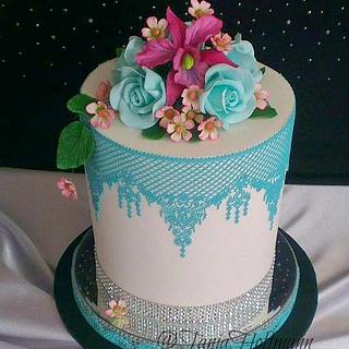 Pretty cake for Birthday Registry