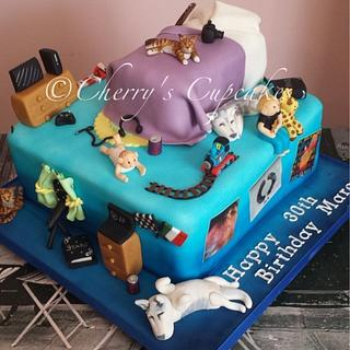 """""""This Is Your Life"""" Cake"""