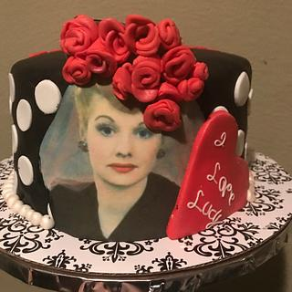 I love Lucy cake - Cake by Cakes by Crissy