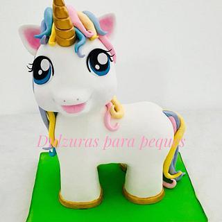 Unicorn cake - Cake by Romina Haiek