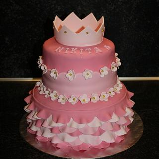 Princess cake - Cake by Natalia