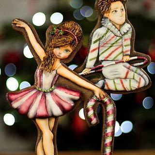 Candy Cane Ballet Dancers // The Nutcracker