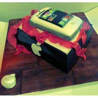 iphone cake first go xx