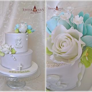 First comunnion - Cake by Tortolandia