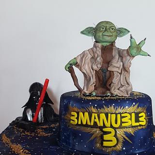 Starwars Cake - Cake by lameladiAurora