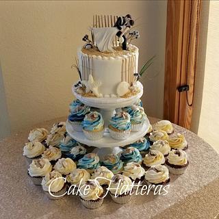 Navel Wedding Cake