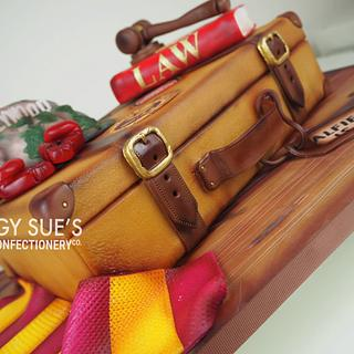 Travel/Suitcase 21st Cake - Cake by PeggySuesCC