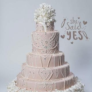Wedding cake  - Cake by martina bikovska