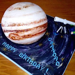 PLANET JUPITER CAKE - Cake by Camelia