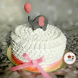 Baby shower cake  - Cake by Cake Temptations