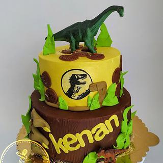 Juressic cake
