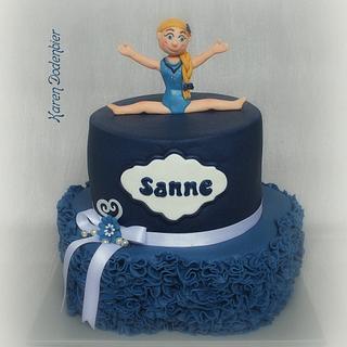 Gynastic cake