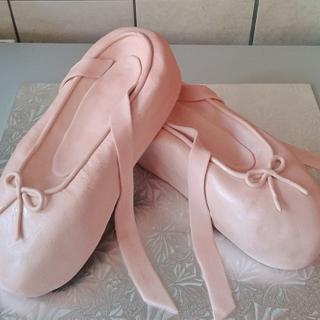 Ballerina Shoe Cake