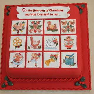 12 Days of Christmas - Cake by CakekraftDublin