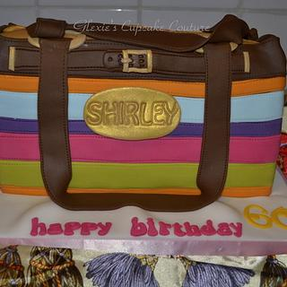 coach inspired purse cake - Cake by glenda