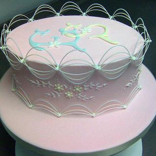 Royal Iced Oriental Stringwork