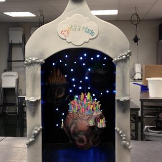 dreamflight hanging cake's
