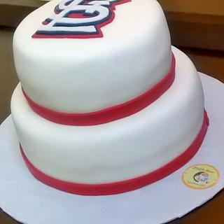 Amazing St Louis Cardinals 4 Cakes Cakesdecor Funny Birthday Cards Online Fluifree Goldxyz