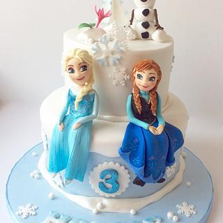 Another Frozen Cake!!