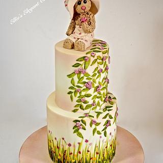 Summer Teddy Cake