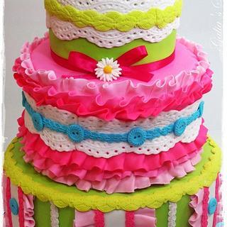 colorful cake