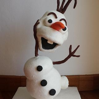 Gravity defying Olaf