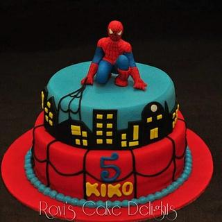 Spiderman cake - Cake by Rovi