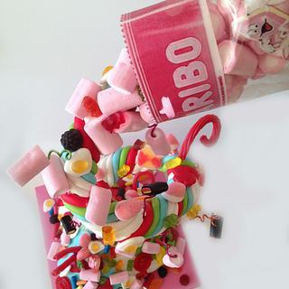 Haribo Sweets 3D Cake