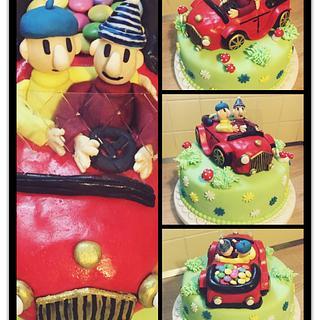 Pat a Mat cake