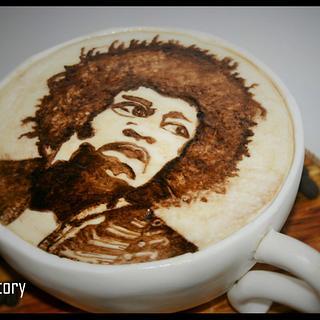 Jimmi Hendrix is in my Coffee!