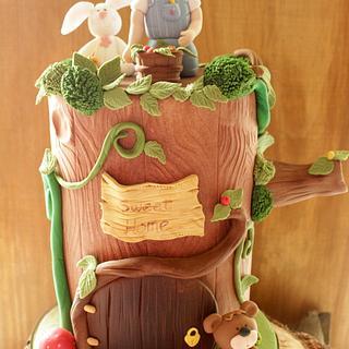 Tree Cake - Cake by canelaencasamadrid