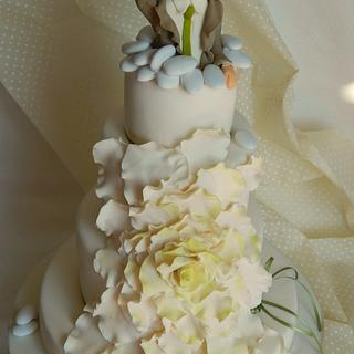 Wedding cake for a wedding planner!!
