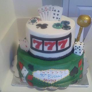 Casino Cake - Cake by Cakes4Fun